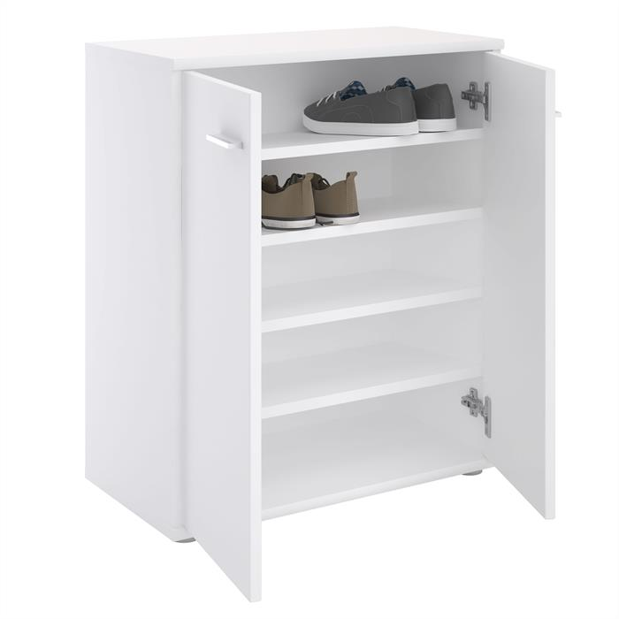 Schuhschrank LENNIS 2 Türen in weiß