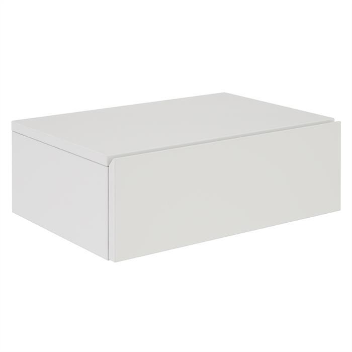 Hängende Nachtkommode ANNE mit 1 Schublade, weiß