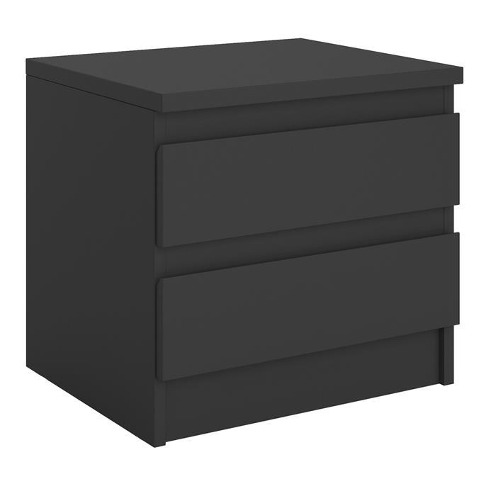 Nachttisch ASTER in schwarz