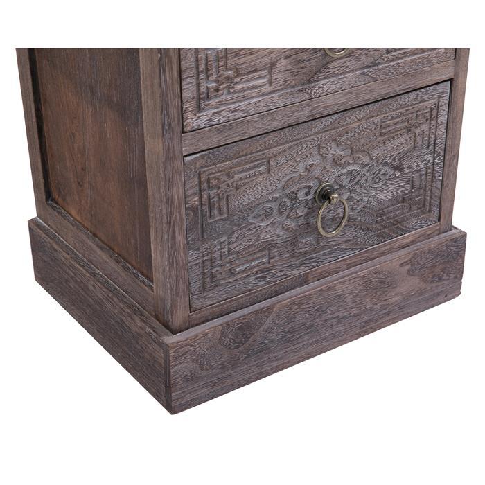Nachttisch ENZO mit 3 Schubladen