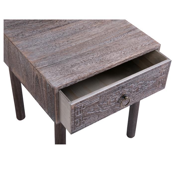 Nachttisch CARLO braun mit 1 Schublade
