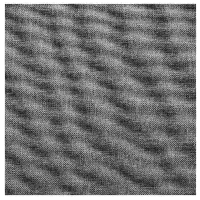 Polsterbett SAMUEL 180x200 cm, inkl. Lattenrost in grau