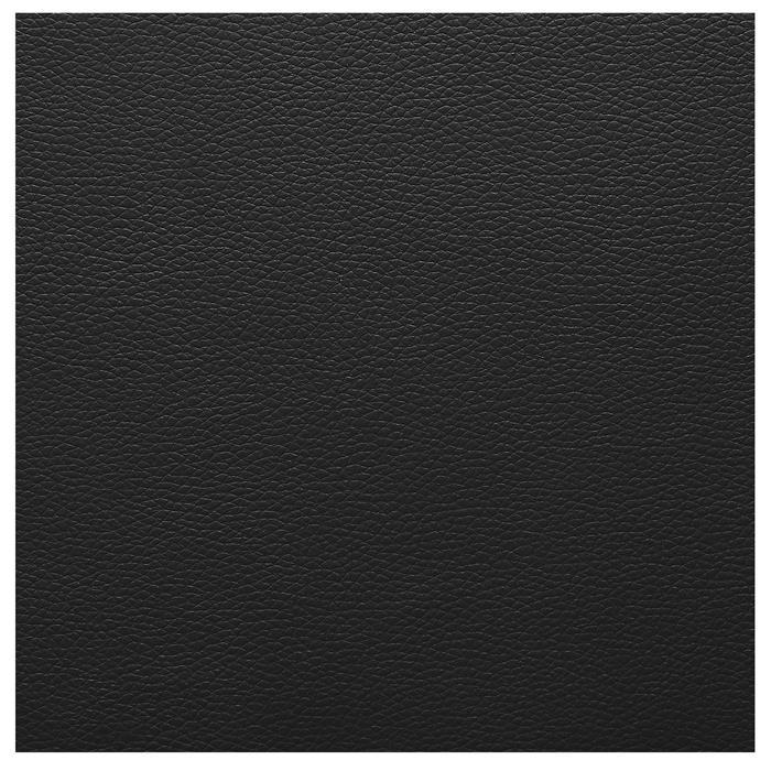Polsterbett OWEN 180x200 cm, inkl. Lattenrost in schwarz
