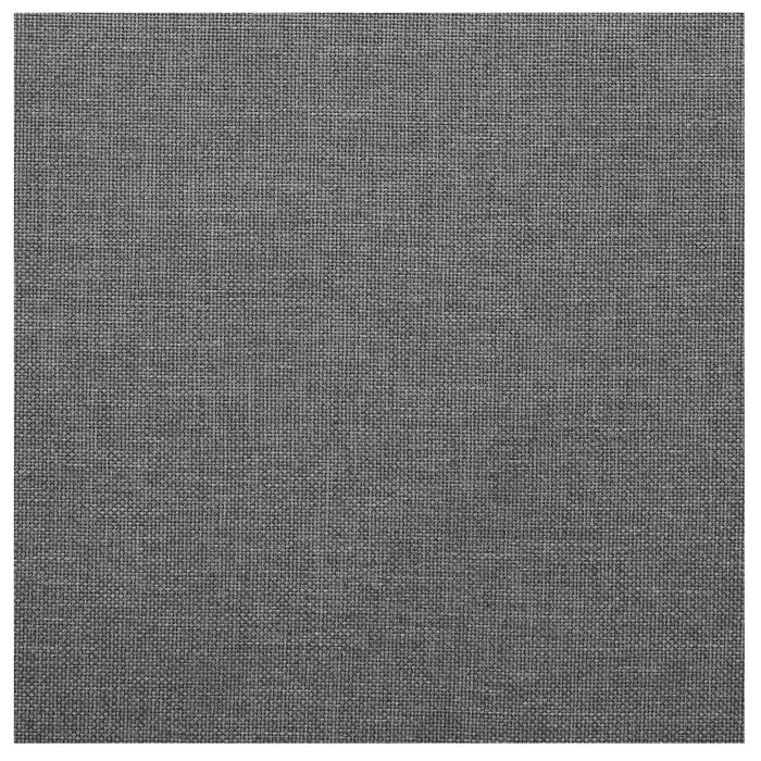 Polsterbett JASON 180x200 cm, inkl. Lattenrost in grau