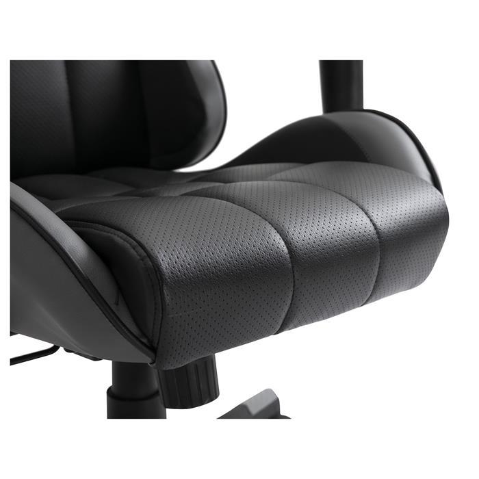 Gamingstuhl CREW in schwarz/grau