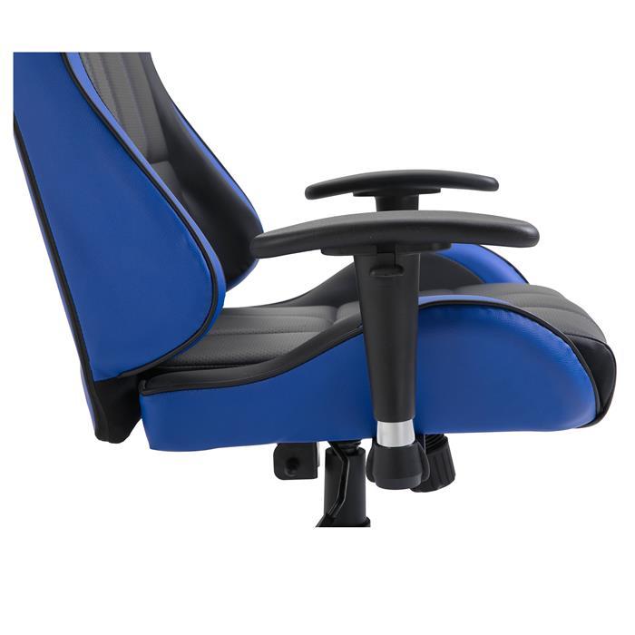 Gamingstuhl CREW in schwarz/blau