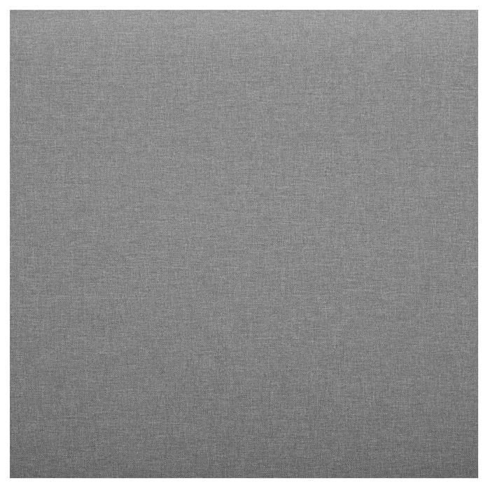Polsterbett EDGE inkl. Lattenrahmen 140x200 cm in grau