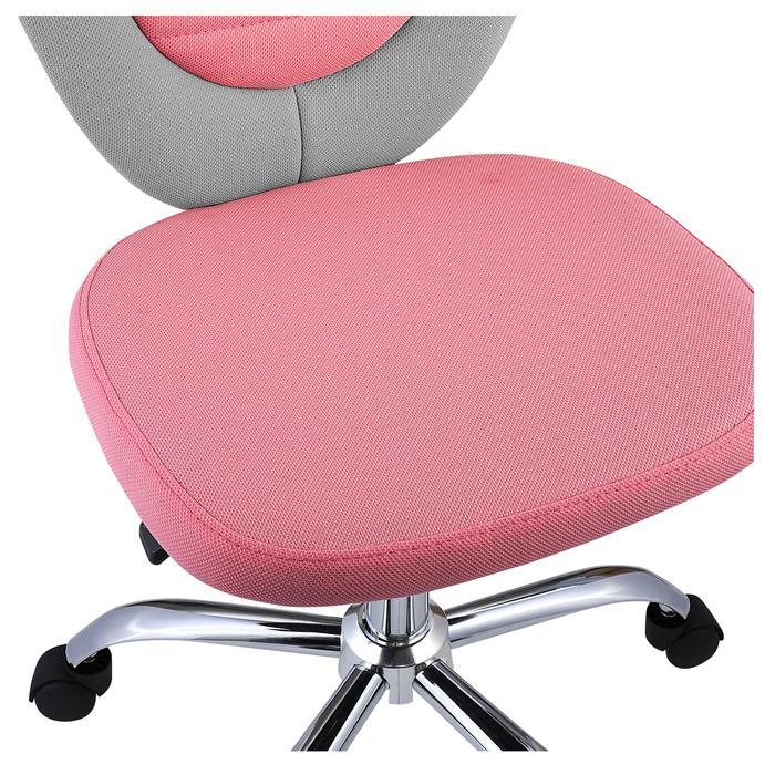 Kinderdrehstuhl FUTURE in grau/rosa