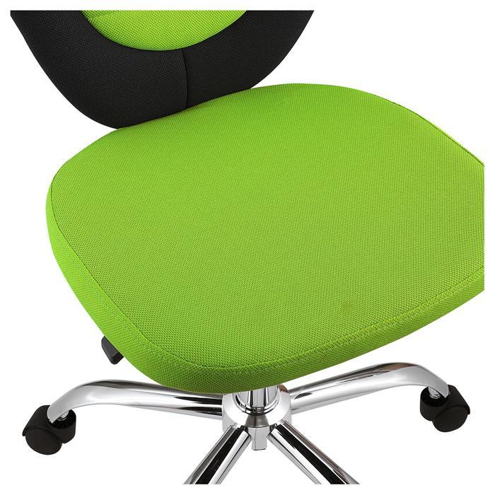 Kinderdrehstuhl FUTURE in schwarz/grün