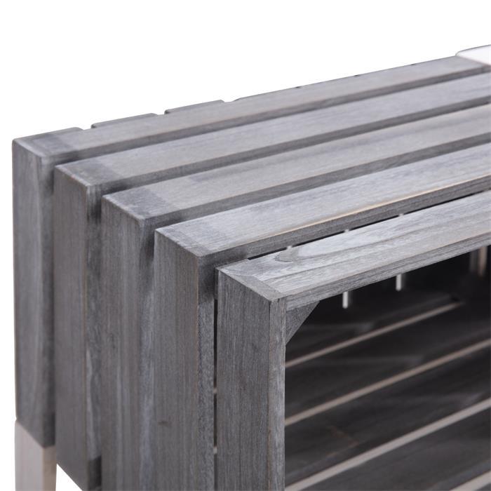 Kistenregal KALENA mit 6 Fächern