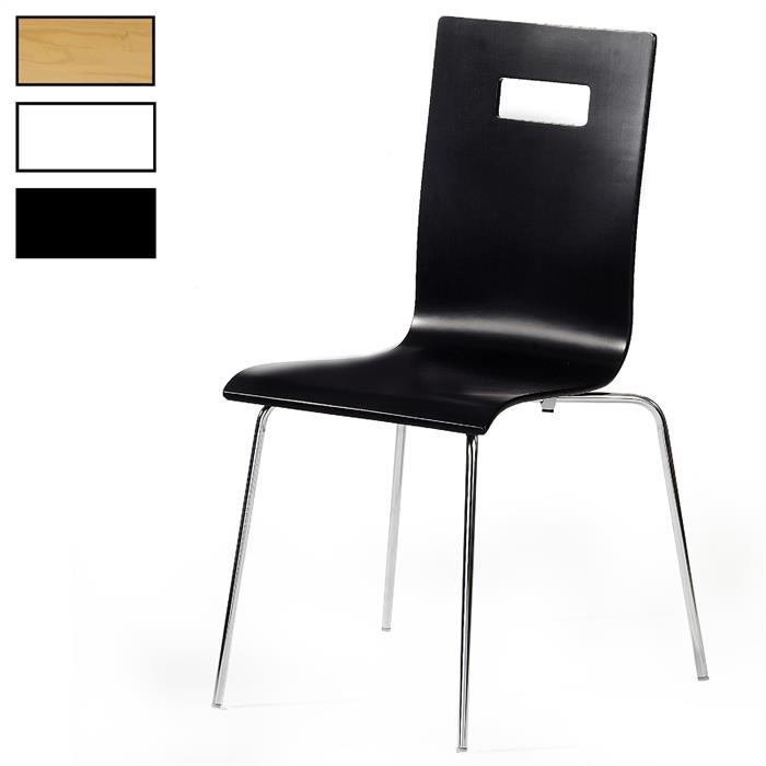 Stuhl WILMA im 4er Pack, verschiedene Farben