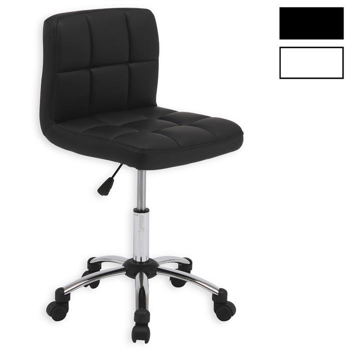 Drehstuhl CEDRIC in schwarz und weiß