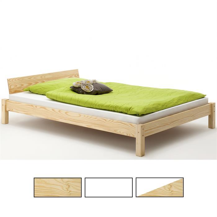 Einzel-/Doppelbett VALENTIN, versch. Farben