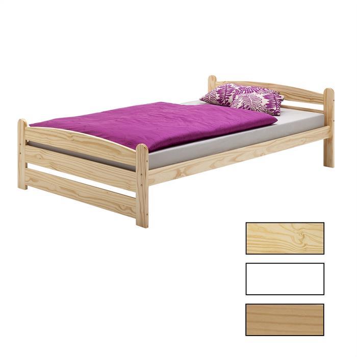 Einzelbett in verschiedenen Größen und Farben