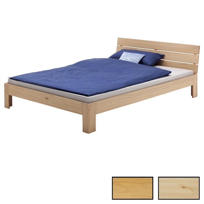 Doppelbett, 140 x 200 cm in versch. Farben