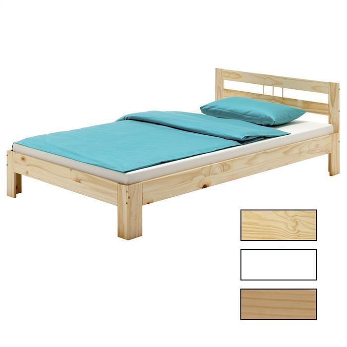 Einzel- und Doppelbett MALTE, versch. Farben
