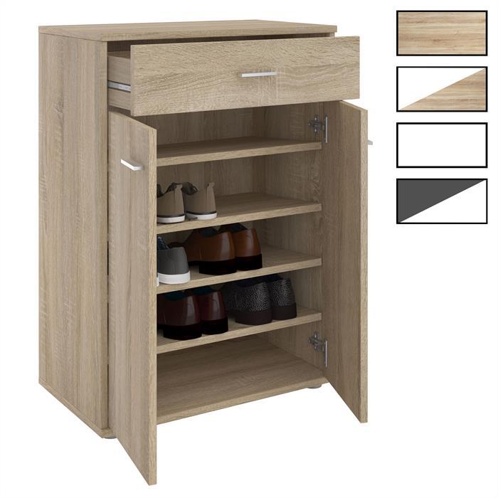 schuhschrank grenoble mit 1 schublade 2 t ren caro m bel. Black Bedroom Furniture Sets. Home Design Ideas
