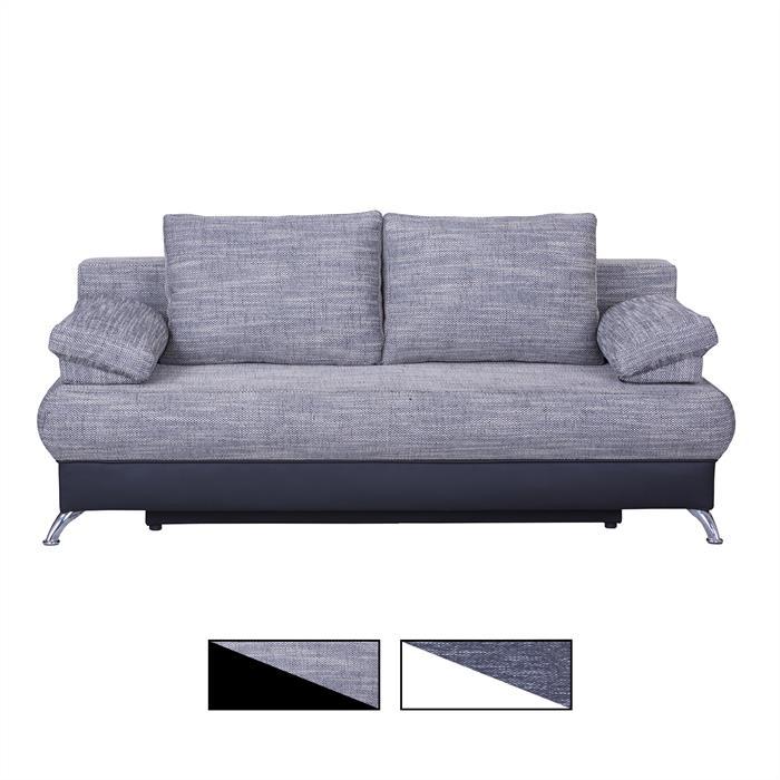 Schlafsofa MILA mit Bettkasten, 2 Farben