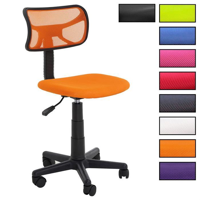 Kinder Schreibtischstuhl MILAN Netzbezug in 6 Farben