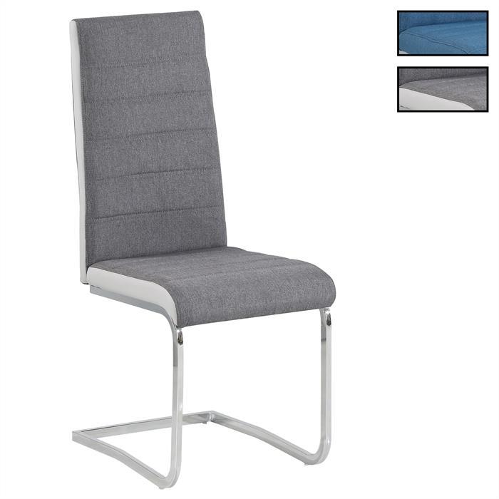 Esszimmerstühle im 4er Set MODESTO in grau oder blau