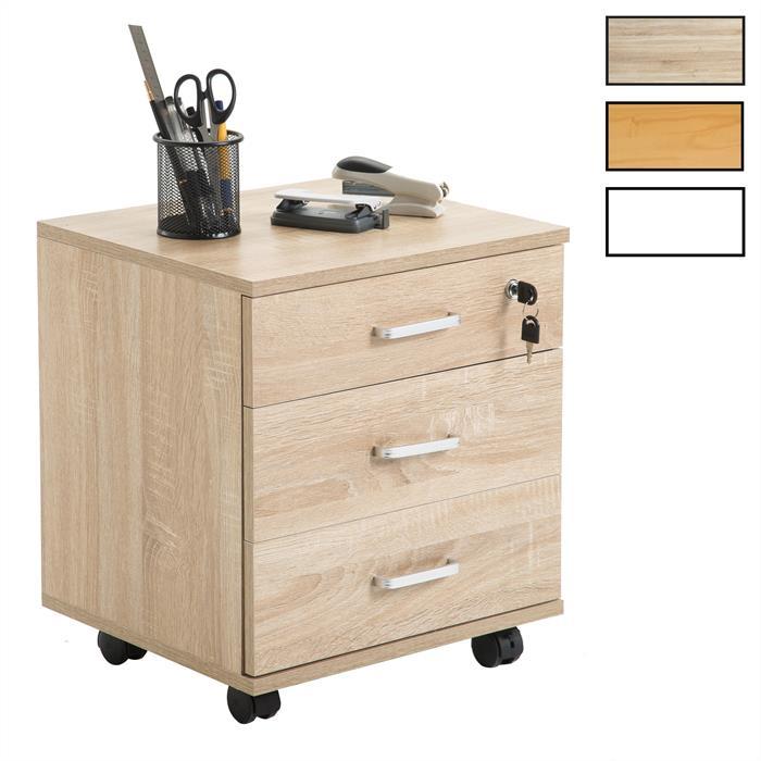 Rollcontainer SATURN mit 3 Schubladen