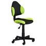 Bürodrehstuhl schwarz/grün