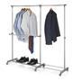 Garderobenständer auf Rollen, verstellbar