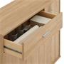 Kommode ESTELLE mit 3 Türen, 1 Schublade in Sonoma Eiche