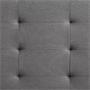 Polsterbett NEBRASKA 120 x 200 cm in grau