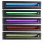 Polsterbett MIRASOL mit LED 120 x 200 cm inkl. Lattenrost