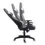 Bürodrehstuhl GAMING in schwarz/weiß