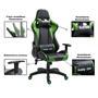Bürodrehstuhl GAMING in schwarz/grün