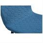Esszimmerstuhl 4er Set ONDA in blau