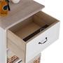 Kommode PROVENCE weiß, mit 1 Schublade und 3 Körben