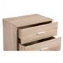 Kommode VENUS mit 3 Schubladen in Sonoma Eiche
