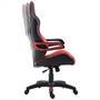Bürostuhl PLAY in schwarz/rot