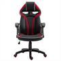 Bürodrehstuhl SPEEDY in schwarz/rot