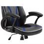 Bürodrehstuhl SPEEDY in schwarz/blau