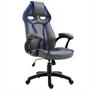 Bürodrehstuhl CONTEST in grau/blau