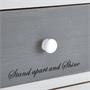 Schubladenregal SALVA in weiß mit 5 Schubladen