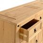 Anrichte Sideboard SALSA Kiefer massiv mit 3 Schubladen