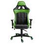 Gamingstuhl CREW in schwarz/grün