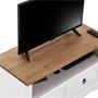 TV Lowboard CAMPO Kiefer massiv mit 2 Schubladen, Mexiko Möbel