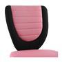 Kinderdrehstuhl FUTURE in schwarz/pink