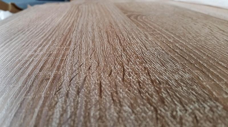 Eiche sägerau - raues Holz